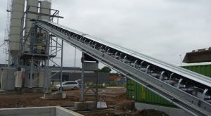 Conveyor bels hot galvanized