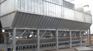Aggregates storage group hot galvanized