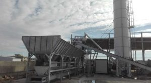 Aggregates loading by belt conveyors