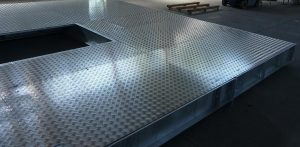 Aluminum ant-sleep installed on maintenance floors