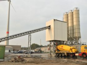 Belgium – Ready-mix plant capacity 90m3/hour