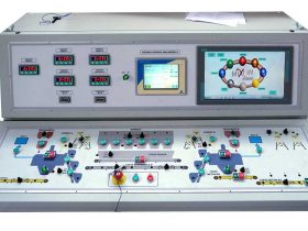 Controls by operator's panel and touch-screen color monitor